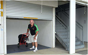 ideal cairns self storage sizes
